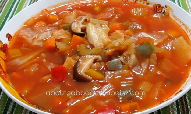 New Recipe for Cabbage Soup Diet